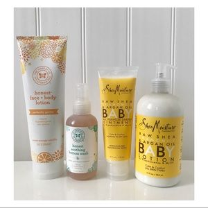 NEW Shea Moisture & Honest Baby Products Bundle